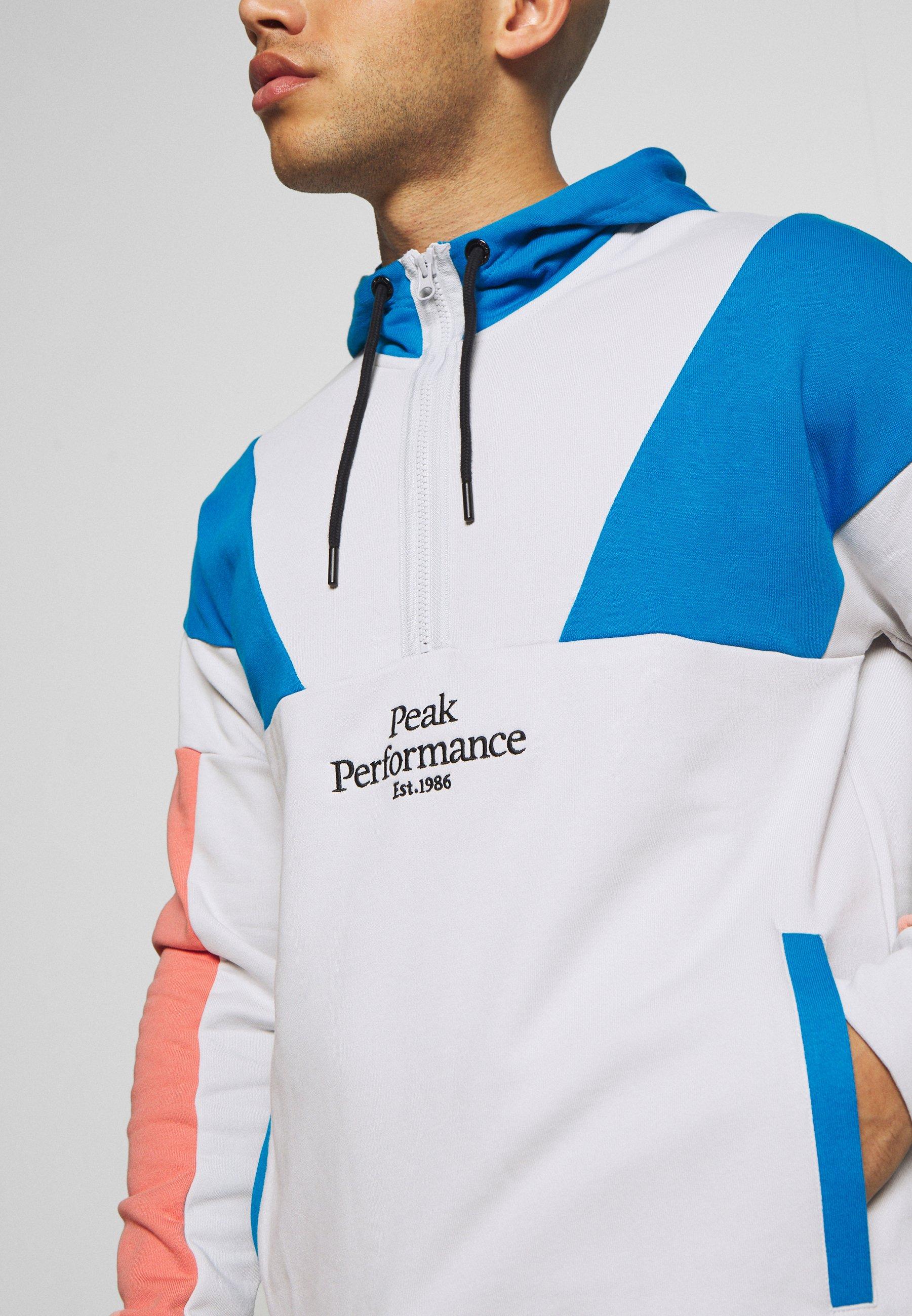 Peak Performance ORIGINAL BLOCKED - Sweat à capuche - antarctica