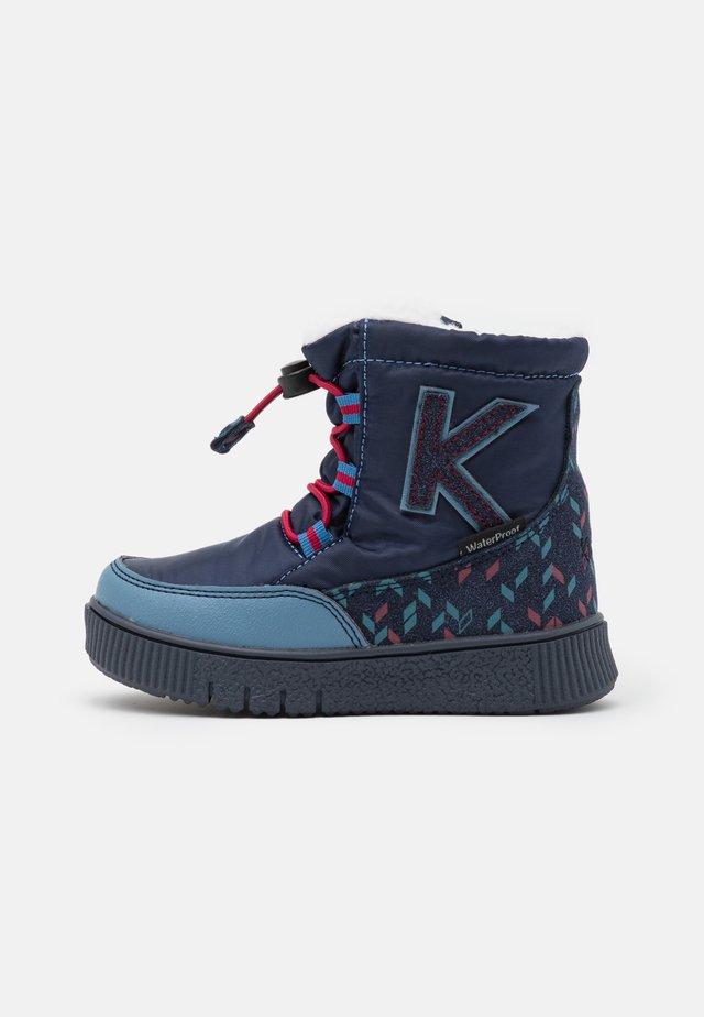 ATLASS - Zimní obuv - bleu