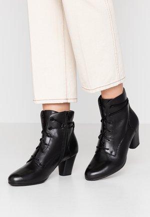 WOMS BOOTS - Nilkkurit - black