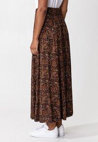 Indiska - OLIVARA - A-snit nederdel/ A-formede nederdele - multi - 1
