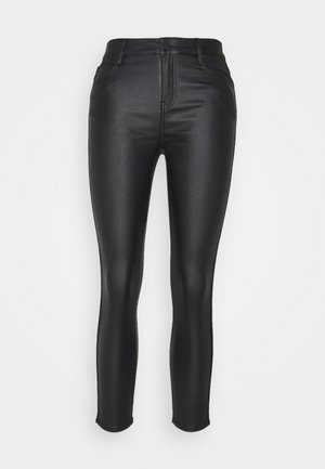 VICOMMIT COATED PANT - Pantalones - black/silver