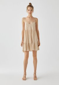 PULL&BEAR - Day dress - yellow - 1