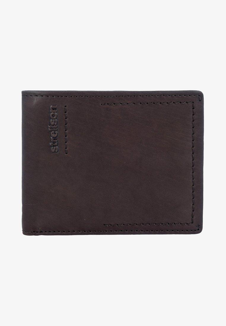 Strellson - NORTON - Wallet - darkbrown