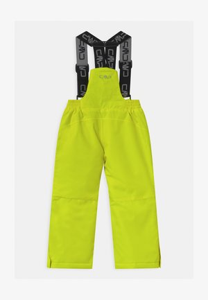 SALOPETTE UNISEX - Snow pants - yellow fluo