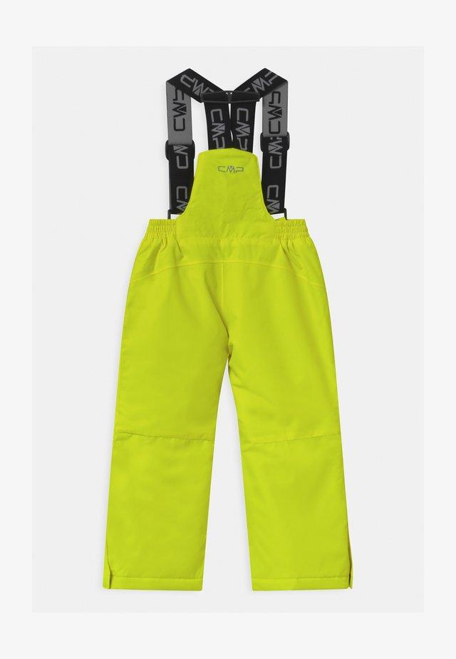 SALOPETTE UNISEX - Spodnie narciarskie - yellow fluo