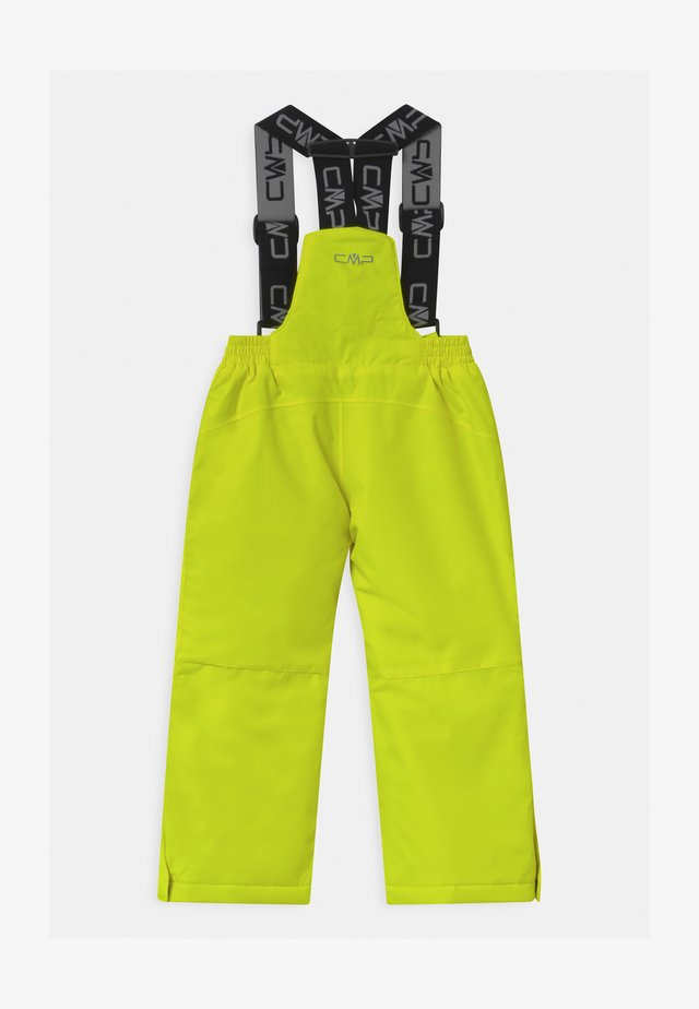 SALOPETTE UNISEX - Pantaloni da neve - yellow fluo