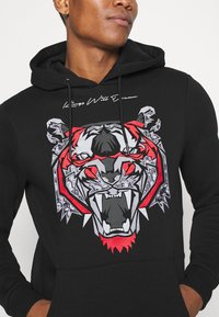 Kings Will Dream - DEMON HOODIE - Hoodie - black/red - 5