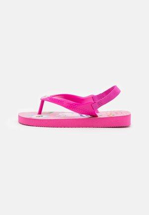 PEPPA PIG - Sandály s odděleným palcem - pink flux