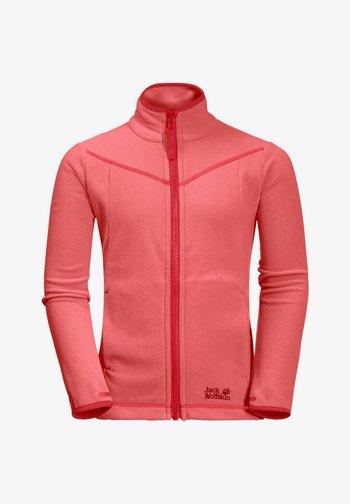 Fleece jacket - desert rose