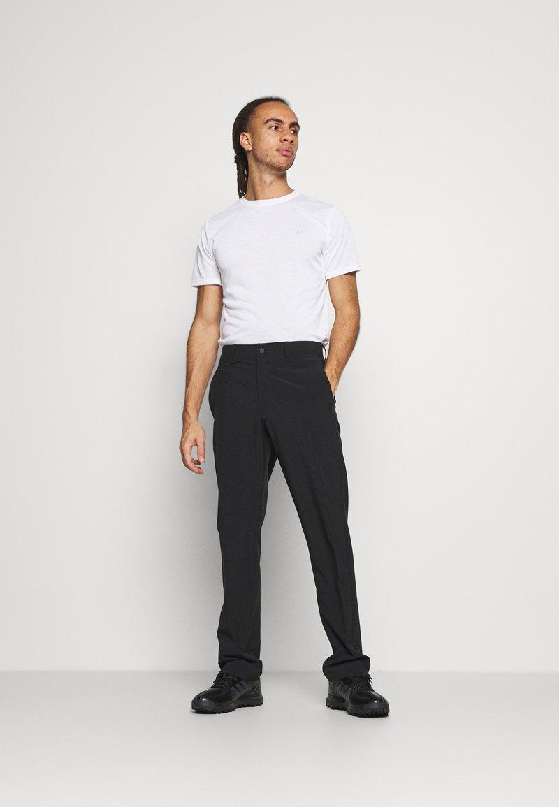 Calvin Klein Golf - 3 PACK - Basic T-shirt - khaki/navy/white