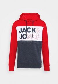 Jack & Jones - JJARID HOOD - Luvtröja - true red - 3