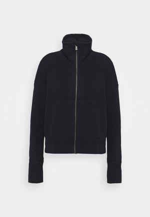 RESTFUL ZIP THROUGH - Zip-up sweatshirt - navy blue