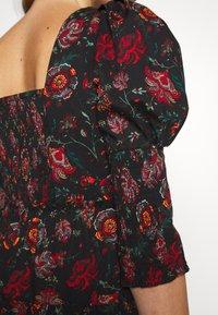 Diane von Furstenberg - NORA DRESS - Day dress - medium black - 6