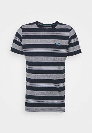 JCOFLAME TEE CREW NECK - T-shirt med print - navy blazer