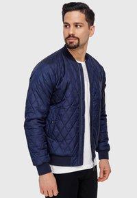 INDICODE JEANS - NOVAK - Light jacket - navy - 6