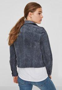 Vero Moda - Leather jacket - ombre blue - 1