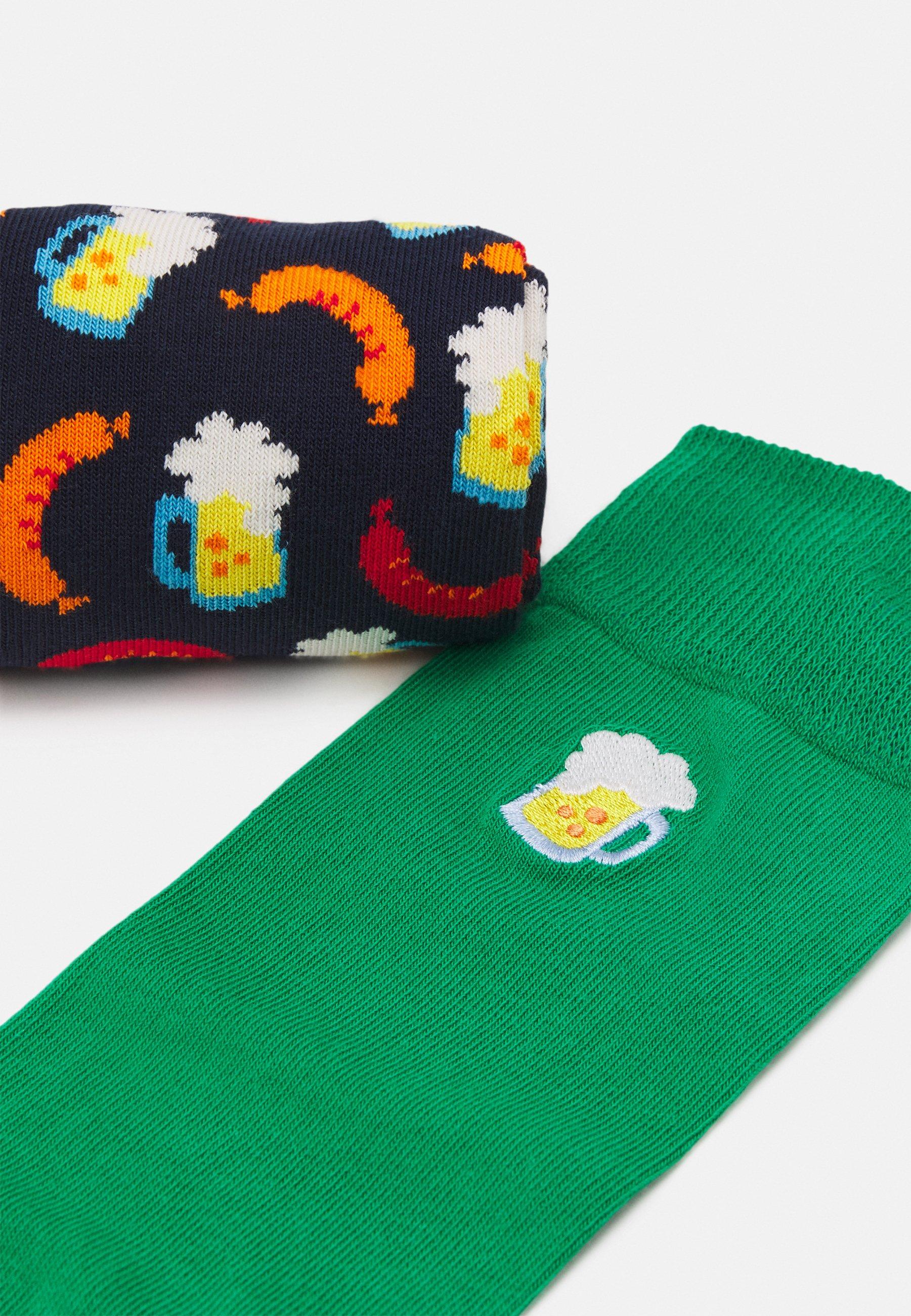 Femme BEER SOCKS GIFT SET 2 PACK - Chaussettes