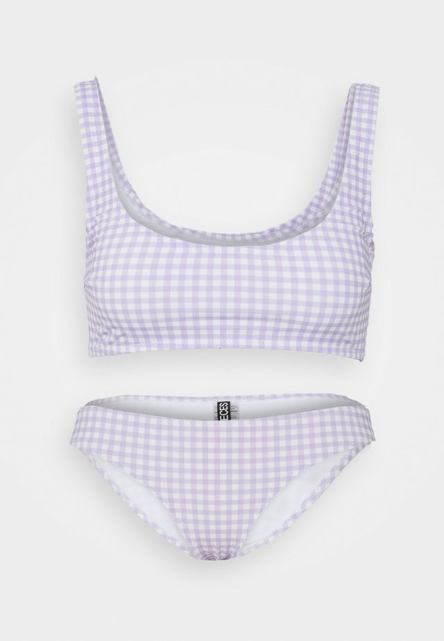 PCNANCYANA SET - Bikinier - lavender
