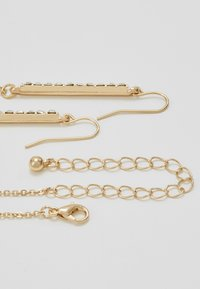 ONLY - ONLCACIA NECKLACE AND EARRING SET - Kolczyki - gold-coloured - 2