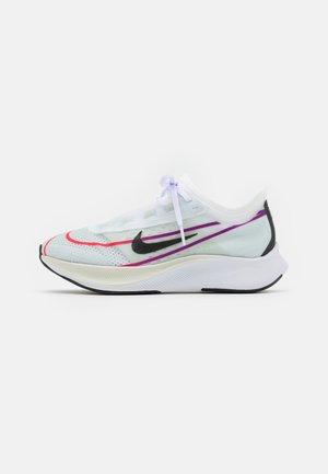 ZOOM FLY 3 - Juoksukenkä/neutraalit - white/black/hyper violet/flash crimson