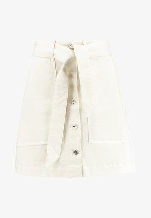 FREJA WORKER SKIRT - A-line skirt - ecru