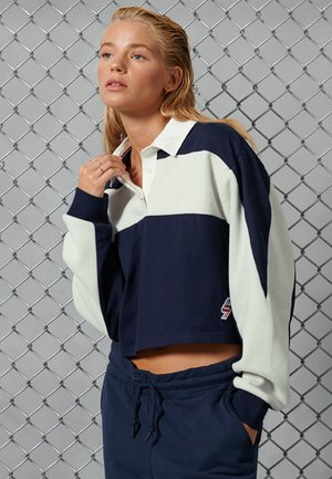 DOLMAN  - Polo shirt - deep navy