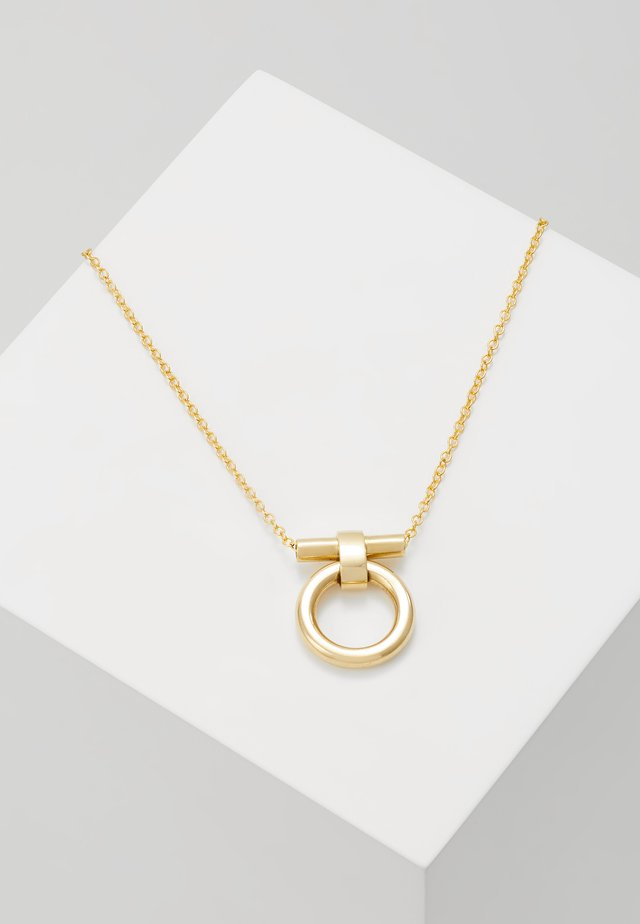 DELICATE ISLE NECKLACE - Smykke - gold-coloured