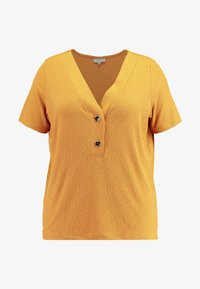 ONLY Carmakoma - CARHELENE - Camiseta básica - harvest gold - 4