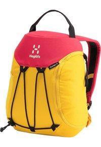 Haglöfs - Hiking rucksack - pumpkin yellow/scarlet red - 3