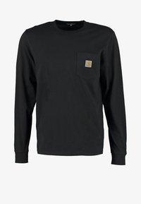 Carhartt WIP - POCKET  - Top sdlouhým rukávem - black - 5