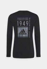 adidas Performance - T-shirt à manches longues - black - 1