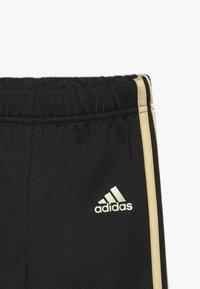 adidas Performance - SHINY  - Tracksuit - black/gold - 3