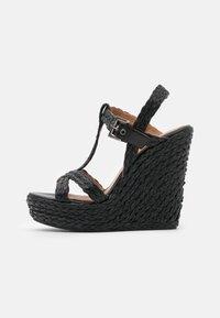 Pura Lopez - Sandály na platformě - black - 1