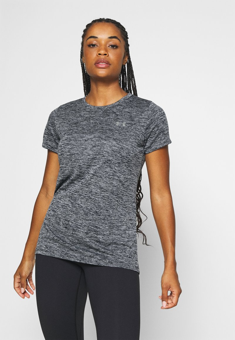Under Armour - TECH TWIST - T-Shirt basic - black