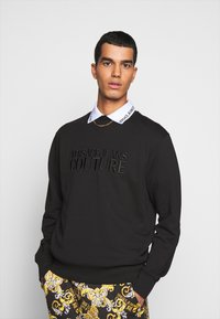 Versace Jeans Couture - FELPA - Sweatshirt - nero - 0