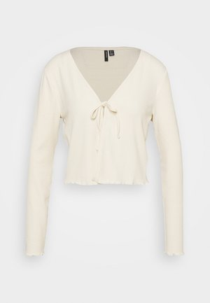 VMRILEY CROP - Cardigan - birch