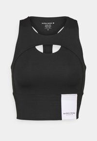 Björn Borg - OVERLAP CROP - Top - black beauty - 0