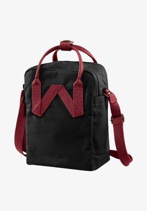 SLING - Across body bag - black-ox red