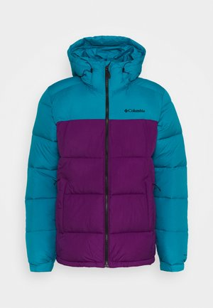 PIKE LAKE HOODED JACKET - Zimní bunda - plum/fjord blue