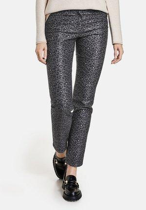 MIT LEODESSIN - Straight leg jeans - black