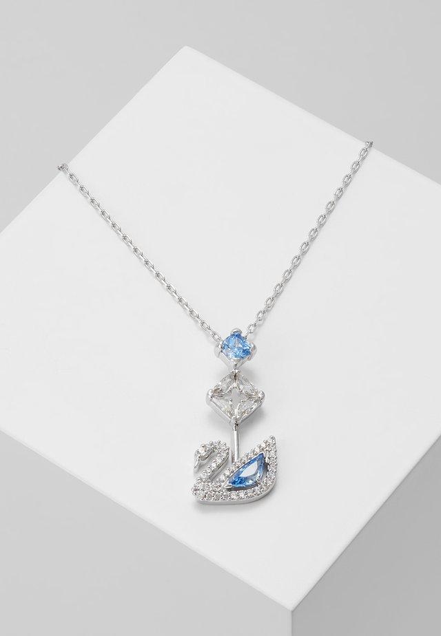 DAZZLING SWAN NECKLACE - Collana - fancy blue