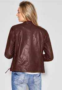 Cecil - Leather jacket - brown - 2