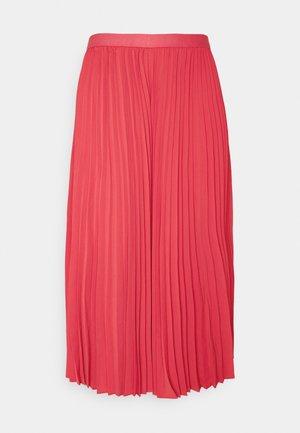 MERI - Pleated skirt - amaranth red