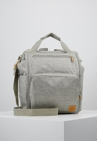 Lässig - GREEN LABEL BACKPACK - Baby changing bag - light grey/beige - 0