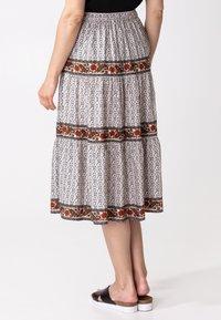 Indiska - ORA - Áčková sukně - beige - 1