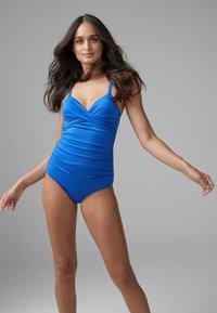 Next - SHAPE ENHANCING  - Swimsuit - blue - 1