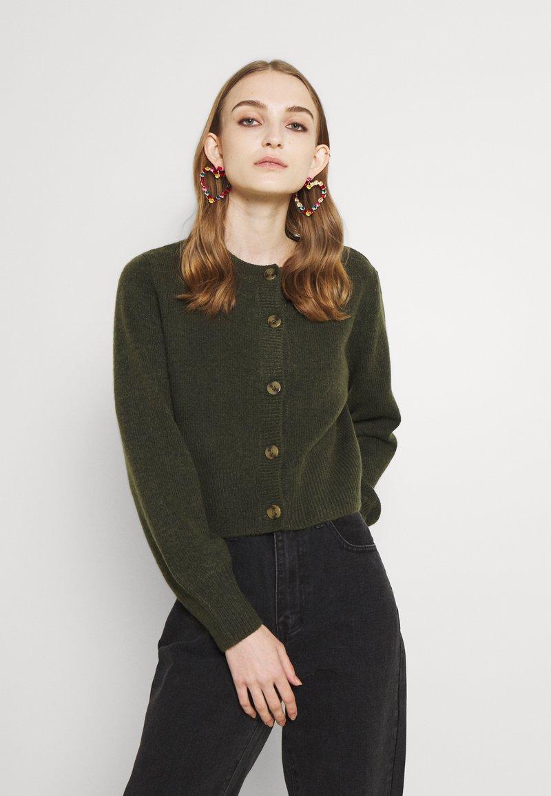 Monki - Cardigan - dark green