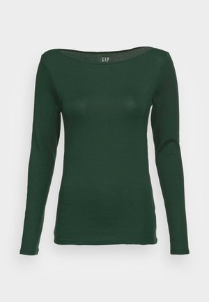 BATEAU - Topper langermet - dark emerald