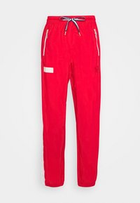 HOOPS WARM UP PANT - Tracksuit bottoms - high risk red/white