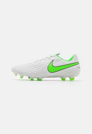 TIEMPO LEGEND 8 PRO FG - Moulded stud football boots - platinum tint/rage green